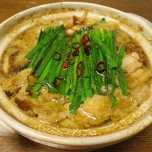 ◆和牛もつ鍋/板ウニ/小松菜のお浸し/野菜サラダ◆