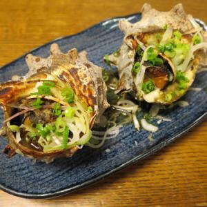 ◆サザエのつぼ焼き/いくら丼/切り干し大根/野菜サラダ◆