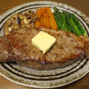 ◆アンガスビーフのサーロインステーキ/あさりバター/枝豆かまぼこ/野菜サラダ◆