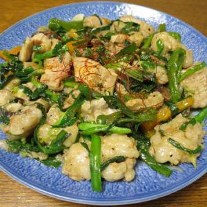 ◆国産牛ホルモン炒め/甘エビの刺身/糠漬け盛り合わせ/野菜サラダ◆