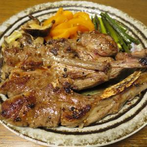 ◆ラムチョップステーキ/笹かまぼこ/根菜きんぴら/野菜サラダ◆