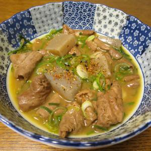 ◆豚もつ煮込み/さつま揚げ/切り干し大根/野菜サラダ◆