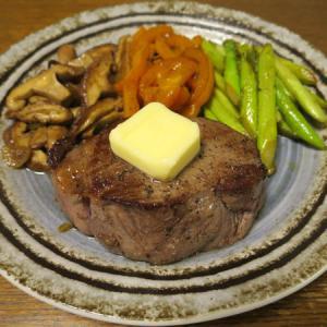 ◆国内産牛のヒレステーキ/イシダイの刺身/しらすおろし/野菜サラダ◆