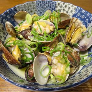 ◆あさりバター/イカフライ/マグロのたたき/野菜サラダ◆