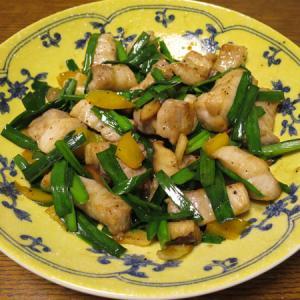◆豚バラ角切り炒め/イカフライ/切り昆布煮/野菜サラダ◆