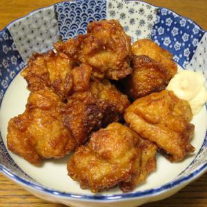 ◆若鶏もも肉の唐揚げ/麻婆ナス/松前漬け/野菜サラダ◆