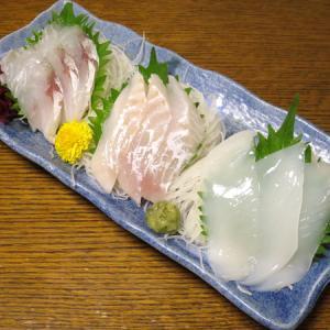 ◆刺身三点盛り/串カツ/切り昆布煮/野菜サラダ◆