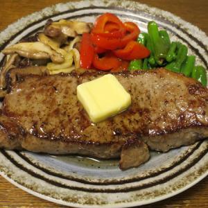 ◆アンガスビーフのサーロインステーキ/イカのいろり焼き/菜の花の辛子和え/野菜サラダ◆