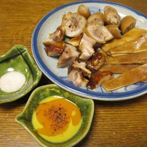 ◆味珍の豚珍味三点盛り/かにみそ/きゅうりスティック/野菜サラダ◆