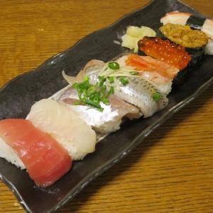 ◆特上寿司/豚もつ焼き/山海漬け/野菜サラダ◆