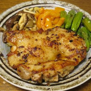 ◆チキン醤油ステーキ/炙りしめ鯖/長芋の青じそ漬け/野菜サラダ◆