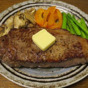 ◆アンガスビーフのサーロインステーキ/麻婆茄子/ほたてしらゆき/野菜サラダ◆
