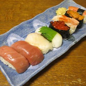 ◆特上寿司/ローストビーフ盛り合わせ/梅水晶/野菜サラダ◆