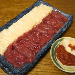 ◆馬刺し/のどぐろの干物/セロリのマリネ/野菜サラダ◆