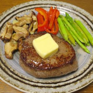 ◆黒毛和牛ランプステーキ/鯵のたたき/はんぺんバター焼き/野菜サラダ◆