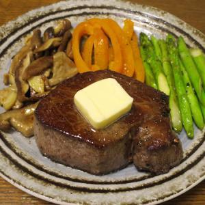 ◆長崎和牛ヒレステーキ/イカリングフライ/オクラときゅうりの塩昆布和え/野菜サラダ◆