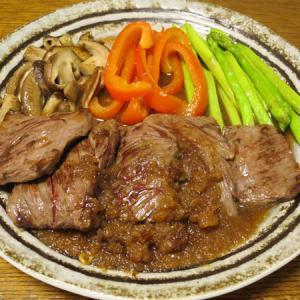 ◆ハラミステーキ/真鯵の刺身/マカロニハムサラダ/野菜サラダ◆