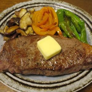 ◆サーロインステーキ/くじらベーコン/蒸し鶏中華クラゲ/野菜サラダ◆