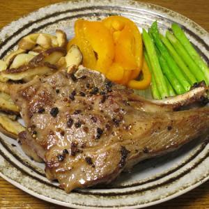 ◆ラムチョップステーキ/エビチリ/サーモンマリネ/野菜サラダ◆