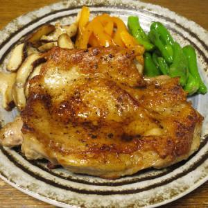 ◆チキン醤油ステーキ/タコの刺身/蒸し鶏中華クラゲ/野菜サラダ◆