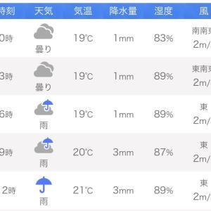 剣崎イサキ、雨の解禁日、