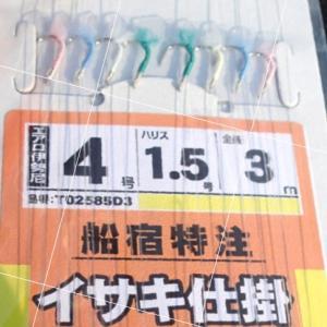 剣崎沖6月1日(土)からイサキ解禁!