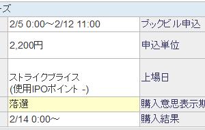AHCグループ(7083)IPO当落抽選結果