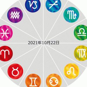 本日の運勢占い 2021年10月22日 民放各局