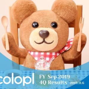 コロプラ(3668)4Q決算!ドラクエウォークのリリースで株価、売上はどうなった?800万ダウンロードの効果は?
