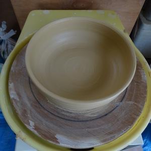 轆轤挽き 中鉢
