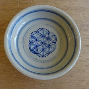呉須文様煮物鉢