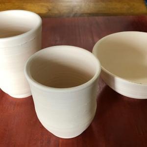 素焼き 湯呑 茶碗