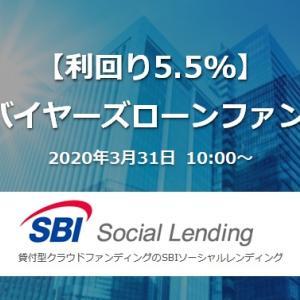 【新規案件・利回5.5%】不動産バイヤーズローンファンド36号|SBI