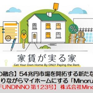 【FUNDINNO 第123号】株式会社Minoru