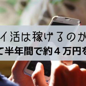 【解説】隙間時間にアンケートでポイ活|実際にどのくらい稼げるのか実践したら半年で約4万円をゲット!!