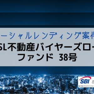 【新規案件・利回6.0%】不動産バイヤーズローンファンド 38号|SBIソーシャルレディング