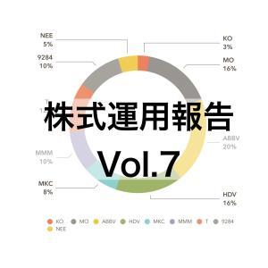 【新卒からの投資生活vol.7】株式運用額は106万7846円でした