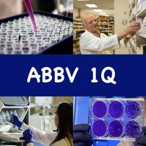 【ABBV 1Q】米国高配当株アッヴィ。決算は良好!だがバイオシミラーの影響は免れない。
