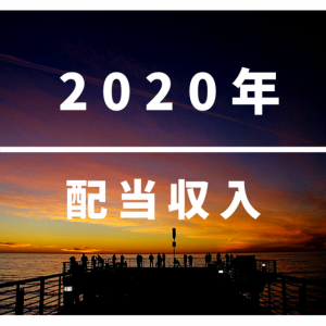 2020年の配当金を振り返る