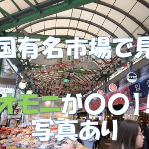 韓国旅行者必見!日本ではめったに食べられないおすすめ〇〇!【実録衝撃写真付】
