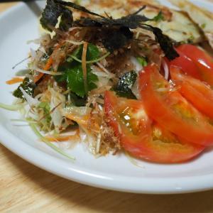 【レシピ】わさびドレッシング! 香り楽しむサラダ!