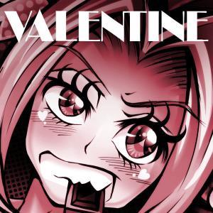 【今日のラクガキ】バレンタインに逆チョコを貰ったうちの看板娘