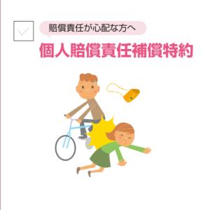 火災保険に個人賠償責任特約を付加。保険料はいくら?【自転車事故】