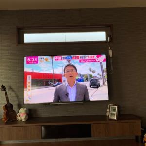 我が家は壁掛けテレビを採用!見た目や安全性は?