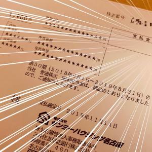 サンヨーハウジング名古屋から配当金と株主優待が届きました!