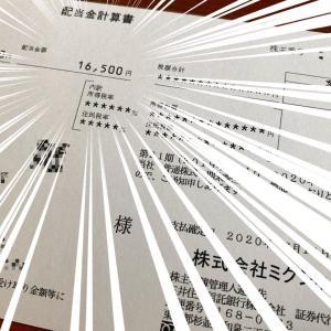 【金持ち株】NISA保有のミクシィ(2121)から配当金の入金がありました~