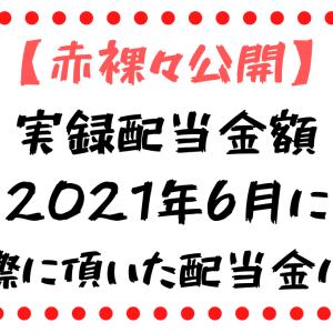 【今年は350万円目指しますキリッ】配当金生活の実情。ワタシがもらった2021年6月の配当金は…