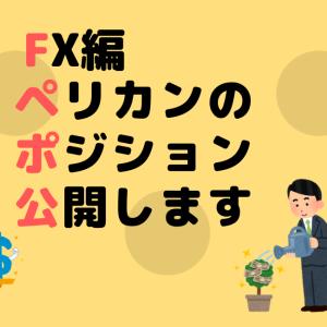 【FX編】必見!ペリカンのポジション公開