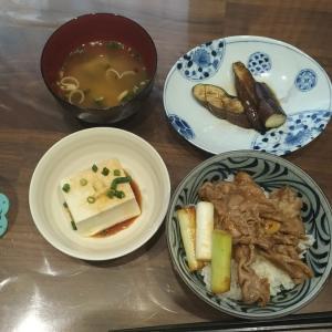 【男の料理】豚丼定食