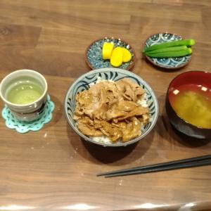 【男の料理】豚丼定食2【いっぴん】
